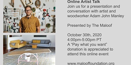 Online Artist Talk: Adam John Manley tickets
