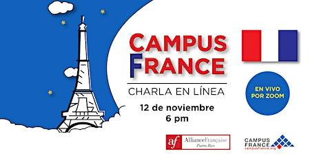 Charla Campus France entradas