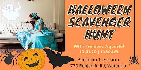 Halloween Scavenger Hunt with the Little Mermaid tickets