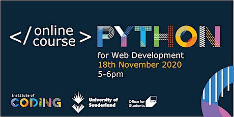 Python for Web Development tickets