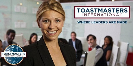 Toastmasters- Experiential Public Speaking and Leadership Development Class tickets