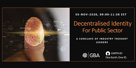 Decentralized Identity - For Public Sector tickets