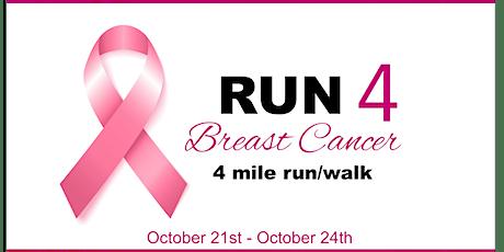 Run 4 Breast Cancer Virtual Run tickets