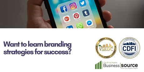Webinar - Branding Your Business for Success tickets