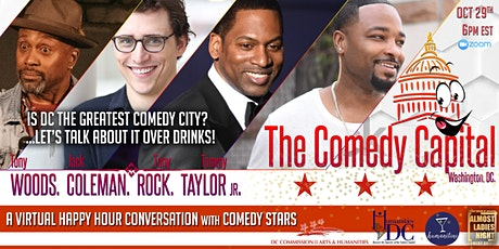 The Comedy Capital: A conversation about DC's historic comedy scene! tickets