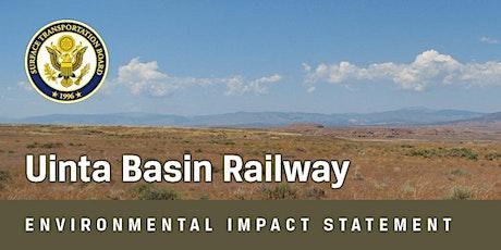 Uinta Basin Railway Draft EIS - Online Public Meetings tickets