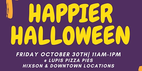 PopUP for Hope: Happier Halloween tickets