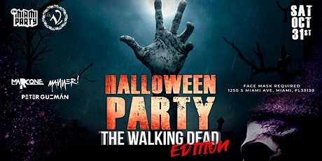 HALLOWEEN PARTY THE  WALKING DEAD EDITION tickets