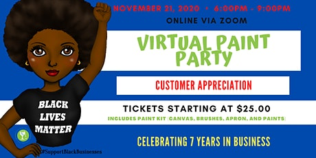 Wonderfully Made4You | Customer Appreciation Virtual Paint Party tickets