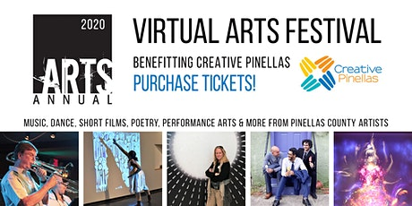 Creative Pinellas Arts Annual Virtual Festival tickets