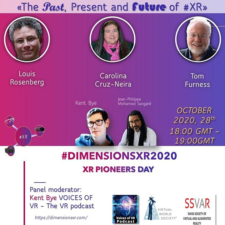 #DIMENSIONSXR2020 : International congress of extended reality in sciences image