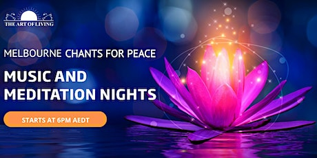 Melbourne Chants for Peace tickets