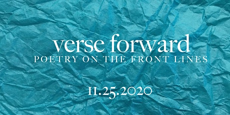 Verse Forward: Poetry on the Frontlines tickets
