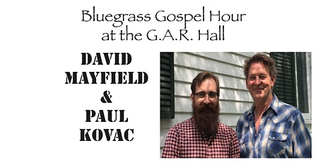 Bluegrass Gospel hour at the Bronson Church, I mean the G.A.R. Hall!! tickets