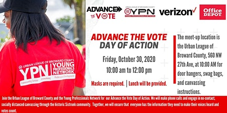 Urban League of Broward County Young Professionals Network Canvassing Event tickets