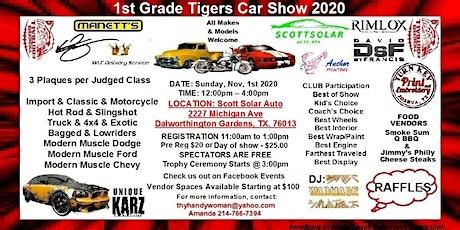 1st Grade Tigers Car Show tickets