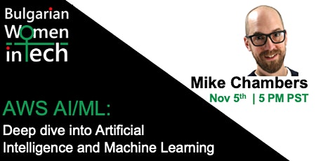 AWS AI/ML: Deep dive in AWS AI and Machine Learning tickets