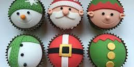 Cake Decorating. xmas cup cakes tickets