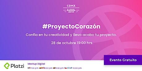 Dribbble - #ProyectoCorazón entradas