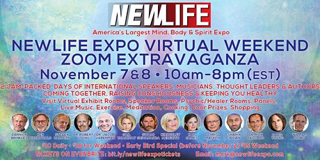 NEWLIFE EXPO VIRTUAL WEEKEND ZOOM EXTRAVAGANZA tickets