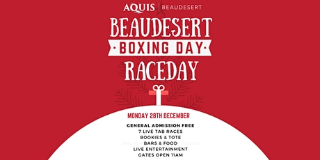 Boxing Day Raceday - Beaudesert Race Club tickets