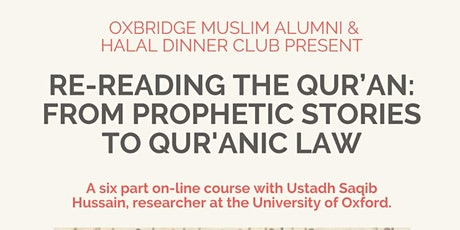 Re-Reading the Quran: From Prophetic Stories to Quranic Law tickets