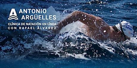 Clínica de natación en línea - Grupo A entradas