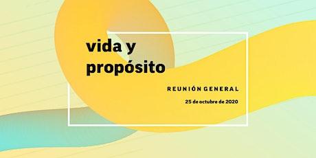 Reunión Vida y Propósito 25-octubre-2020 entradas