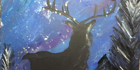 Pour & Paint Mystical Reindeer tickets
