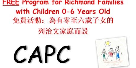 CAPC Online Circle Time  在線Circle Time (11月4日至12月17日)