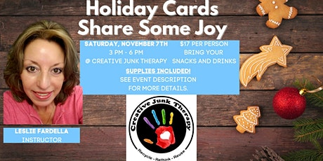 Holiday Cards - Share Some Joy tickets