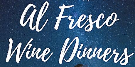 Italian 'Al Fresco' Wine Dinner tickets