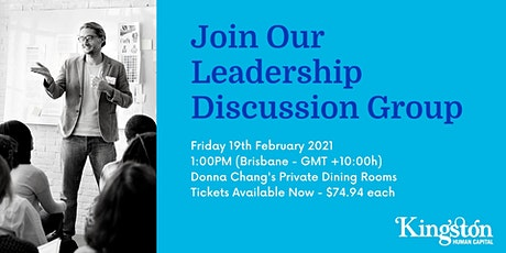 Leadership Discussion Event tickets
