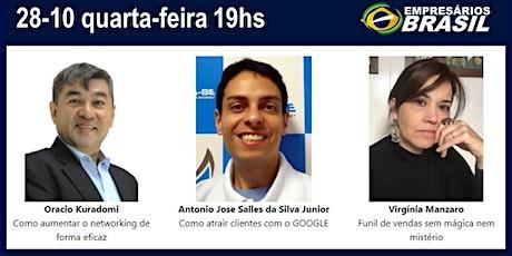 Reunião de Negócios da Empresários Brasil ingressos