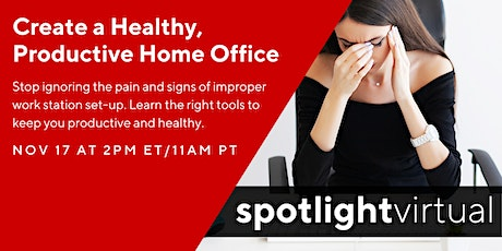 Create a Healthy, Productive Home Office tickets
