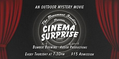 Cinema Surprise - An Outdoor Mystery Movie Every Thursday in November tickets