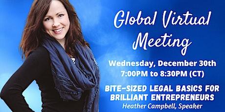 ENGAGING SPEAKERS  | Global Virtual Meeting | Heather Campbell, Speaker tickets
