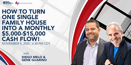Turn a single-family house into a monthly $5,000 to $15,000 cash flow! tickets