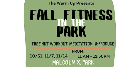 Fall Fitness In The Park tickets