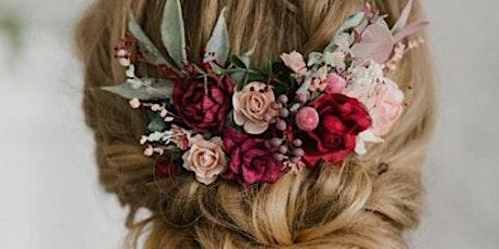 Spring Carnival Floral Headpiece Workshop tickets