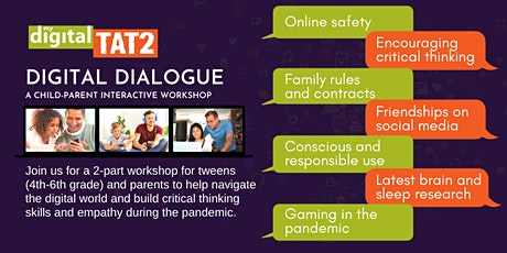 Digital Dialogue - A child-and-parent interactive workshop by MDT2 tickets