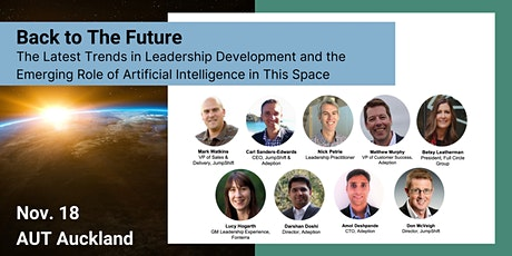 Back to The Future: The Latest in Leadership Development and the Role of AI tickets