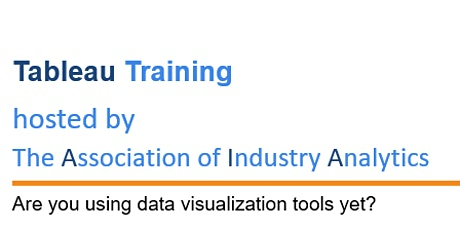 Tableau Virtual Training tickets