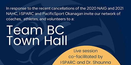 Team BC Town Hall tickets