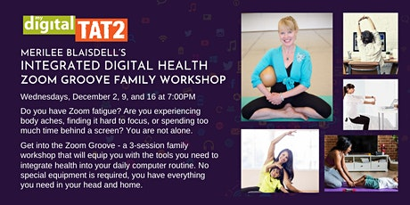Merilee's Integrated Digital Health Zoom Groove Family Workshop tickets