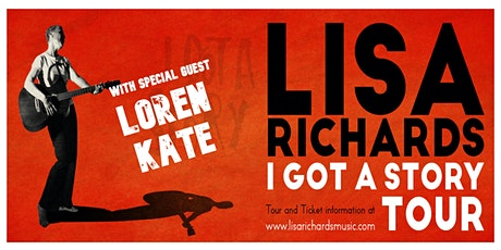 Two Divine Songwriters on One Night : Lisa Richards and Loren Kate tickets