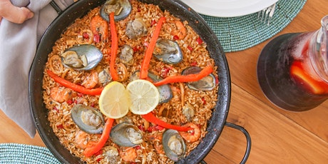 Seafood Paella and Sangria - Online Cooking Class by Cozymeal™ tickets