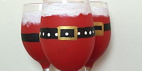 Pour & Paint Santa Wine glasses tickets