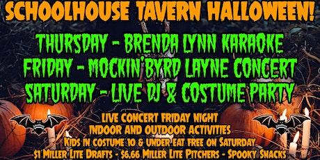 SchoolHouse Tavern Halloween Blowout tickets