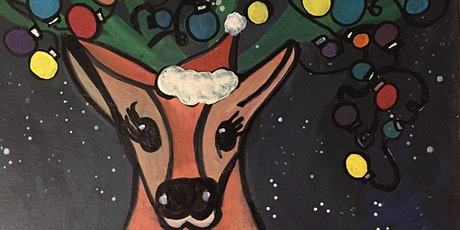 Pour & Paint Christmas Reindeer tickets